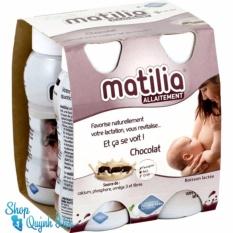Giá Bán Lốc 4 Chai Sữa Matilia Bu Vị Socola 4X200Ml Hang Nhập Khẩu Matilia Trực Tuyến