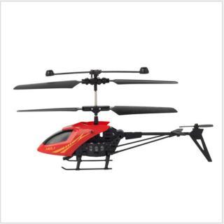 Máy Bay Trực Thăng Alloy Helicopter (màu đỏ) thumbnail