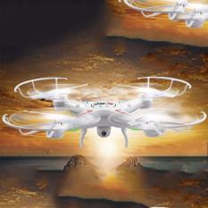 Hình ảnh Đồ chơi máy bay điều khiển từ xa drone kèm camera wifi 2.4G máy bay 4 cánh quạt X5C trắng -AL