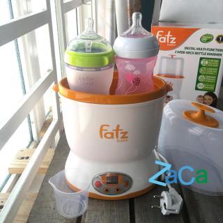 Máy hâm sữa và tiệt trùng 2 bình cổ rộng Fatzbaby FB3018SL bảo hành 1 năm thumbnail