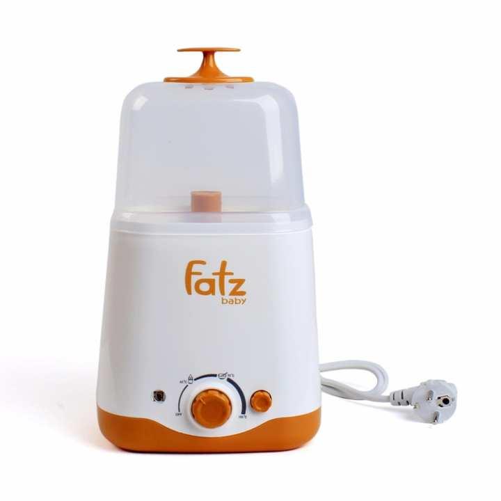 Máy hâm sữa tiệt trùng đa năng 2 bình cổ rộng thế hệ mới FatzBaby FB3012SL