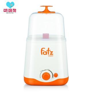 Máy hâm sữa và tiệt trùng 2 bình cổ rộng thế hệ mới Fatz Baby FB3012SL thumbnail