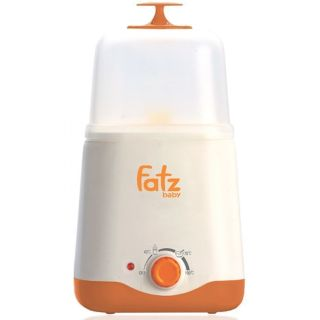 Máy hâm và tiệt trùng bình sữa đa năng Fatzbaby FB3012SL (Trắng phối cam) thumbnail