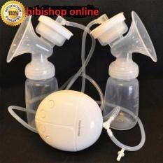 Máy hút sữa điện đôi Real Bubee ( Có chế độ massa kích sữa, Hút êm ái như em bé bú)