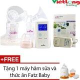 Bán May Hut Sữa Đoi Spectra 9 Plus Tặng 1 May Ham Sữa Va Thức Ăn Fatz Baby Fb3002Sl Spectra Nguyên