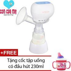 Giá Bán May Hut Sữa Mẹ Điện Tử Khong Co Bpa Unimom K Pop Eco 871104 Trắng Tặng 1 Cốc Tập Uống Co Đầu Hut 230Ml Inomata Hồng Unimom Nguyên