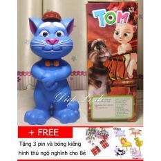 Hình ảnh Mèo Tom kể chuyện biết hát thông minh(xanh)- Diệp Linh TOM5