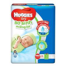Cửa Hàng Bán Miếng Lot Sơ Sinh Huggies Newborn 2 4 7Kg N60 Goi 60 Miếng Tặng Them 6 Miếng Lot Mỗi Goi