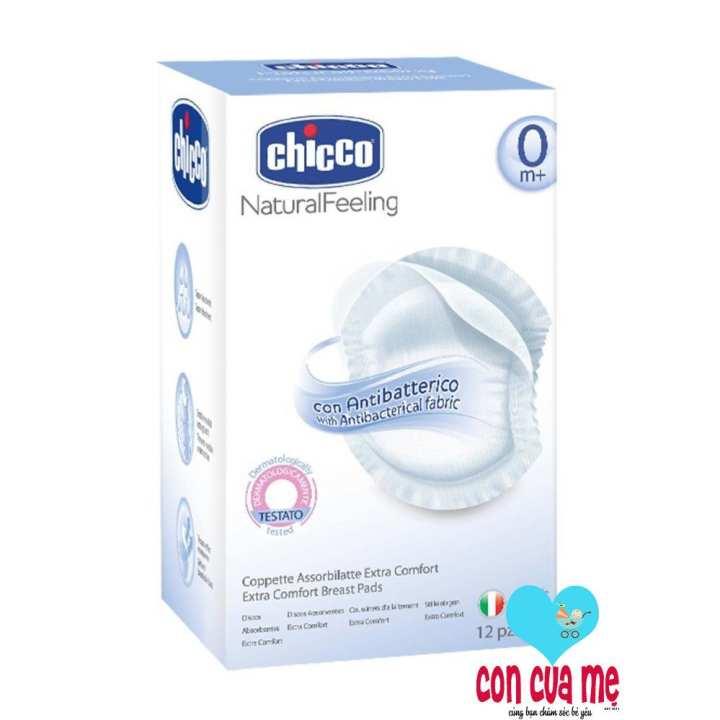 Miếng lót thấm sữa chống khuẩn 12 miếng Chicco 114311