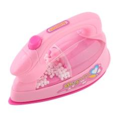 Hình ảnh Mini Iron Plastic Pink Baby Girl Pretend Play Home Appliances Toy - intl