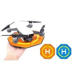 Hình ảnh Mini Lòng Bàn Tay Bãi đổ bộ 17 cm Chống Trượt Di Động Máy Bay Không Người Lái Đậu Xe Tạp Dề Cho DJI SPARK Drone Màu Xanh-quốc tế