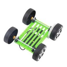 Hình ảnh Mini Solar Powered Toy DIY Car Kit Children Educational Gadget Hobby Toy Set - intl