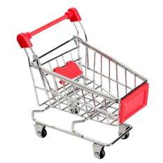 Hình ảnh Siêu Thị Mini Handcart Đồ Chơi Đỏ