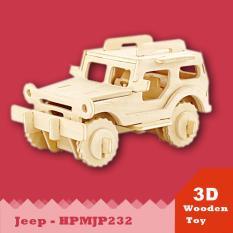 Hình ảnh Mô hình 3D Xe JEEP- HPMJP232 DiyDollHouse