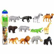 Hình ảnh Mô hình động vật hoang dã mini Safari - bé học thế giới xung quanh (Nhập khẩu từ Mỹ)