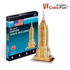 Hình ảnh Mô hình lắp ghép trí tuệ 3D Cubic Fun - Tòa nhà Empire States Mỹ