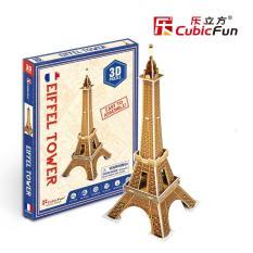 Hình ảnh Mô hình lắp ghép trí tuệ 3D Cubic Fun - Tháp Eiffel