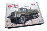 Giá Bán Mo Hinh Lắp Rap Xe Quan Sự 1 35 Russian Army Truck Zil 131 Icm Nguyên Icm