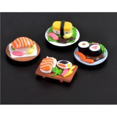 Hình ảnh Mô Hình Món Ăn Sushi Kích Thước 1.7 X 4.8Cm Để Trang Trí Tiểu Cảnh- Bonsai- Nhà Búp Bê(SMD-69)