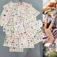 Hình ảnh Moonar Hoạt Hình Dễ Thương Cho Trẻ Em Miếng Dán Hình Xăm Cơ Thể Trang Điểm Hình Xăm Dán-quốc tế