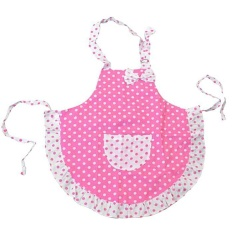 Hình ảnh Moonar Children Girls Boys For Painting Or Game Pink Butterfly Pattern Apron - intl