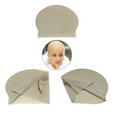 Hình ảnh Moonar Monk nun bald cap Halloween party concert film Costume Dress Up supplies - intl