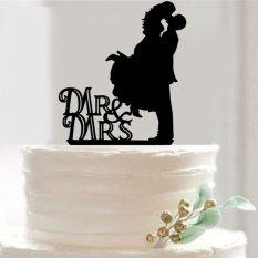 Hình ảnh Mr & Mrs Cô Dâu Cưới Tình Yêu Bánh Dự tiệc Món Quà Trang Trí-quốc tế