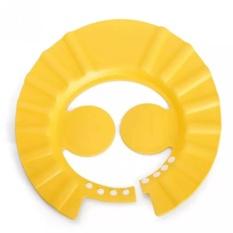 Mũ Gội Đầu Chắn Nước Có Vành Tai Cho Bé Tiện Dụng(Vàng)