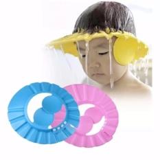 Mũ gội đầu chống nước vào tai và mắt cho bé