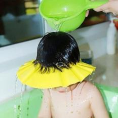Nón tắm an toàn cho bé chỉnh