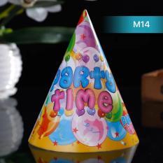 Hình ảnh Mũ sinh nhật cho bé màu sắc MS14