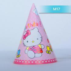 Hình ảnh Mũ sinh nhật hình Hello Kiitty cho bé Ms17