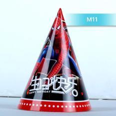 Hình ảnh Mũ sinh nhật hình người nhện cho bé MS11