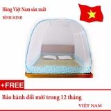 Bán Mung Chụp Tự Bung Gấp Gọn Loại 2 Cửa 1M8 X 2M Loại Đỉnh Rộng Hang Việt Nam Có Thương Hiệu Nguyên