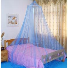 Mùng Tròn Chống Muỗi Bảo Vệ Gia Đình - Xanh Dương