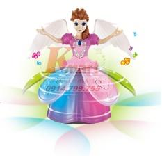 Nàng tiên múa theo nhạc đèn led phát sáng dùng pin Angel Girl
