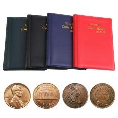 Hình ảnh New 120 Pockets 10 Pages World Coin Storage Folder Album Money Collecting Holder Book (Blue) - intl