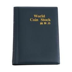 Hình ảnh New 120 Pockets 10 Pages World Coin Storage Folder Album Money Collecting Holder Book (Green) - intl
