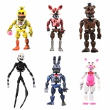 Mua New Aarrival 6Pcs Fnaf Five Nights At Freddy S Action Figures Toys Kids Gift Intl M A K Trực Tuyến