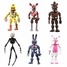 Chiết Khấu New Aarrival 6Pcs Fnaf Five Nights At Freddy S Action Figures Toys Kids Gift Intl M A K
