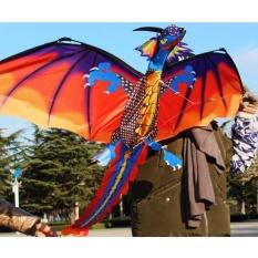 Hình ảnh Cổ Điển mới 3D Rồng Diều 140*120 cm Dây Chuyền Đơn Với Đuôi Ngoài Trời Đồ Chơi Thể Thao-quốc tế