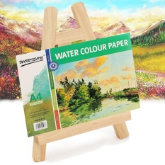 Hình ảnh New Small Pine Wood Easel Wooden Desktop Display Painting Magazine Show Stand - intl