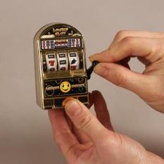 Hình ảnh Newworldmall Kids Novelty Funny Toys Miniature Mini Luck Slots Machine Kids Number Fruit Ball Handle Toys Xmas - intl