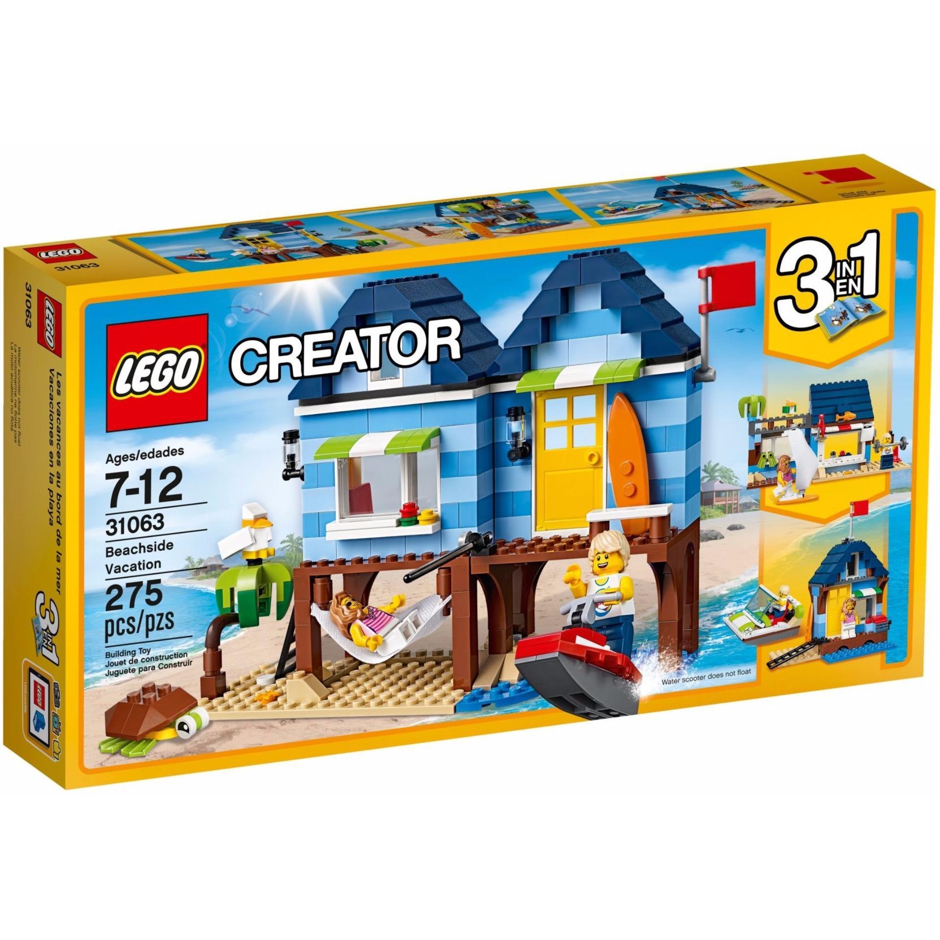 Ngôi Nhà Bãi Biển Lego Creator