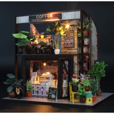 Hình ảnh Nhà búp bê - COFFEE HOUSE DiyDollHouse