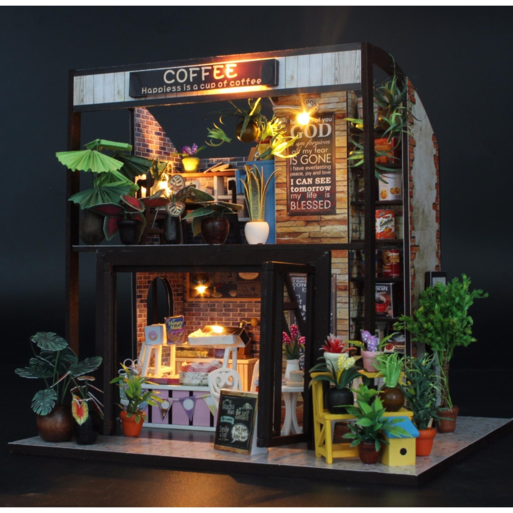 Nhà Búp Bê - COFFEE HOUSE DiyDollHouse Đang Giảm Giá