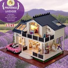 Hình ảnh Nhà búp bê Provence Lavender DiyDollHouse