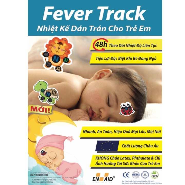 Nhiệt kế dán trán cho trẻ em - FeverTrack