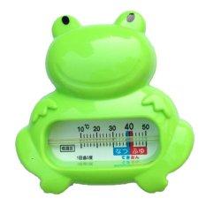 Nhiệt kế đo nhiệt độ nước tắm hình ếch (Xanh) Nhật Bản