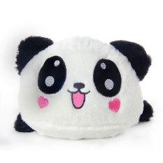 Mã Khuyến Mại Niceeshop Cute Love Heart Lying Plush Stuffed Panda Toy Pillow Black White
